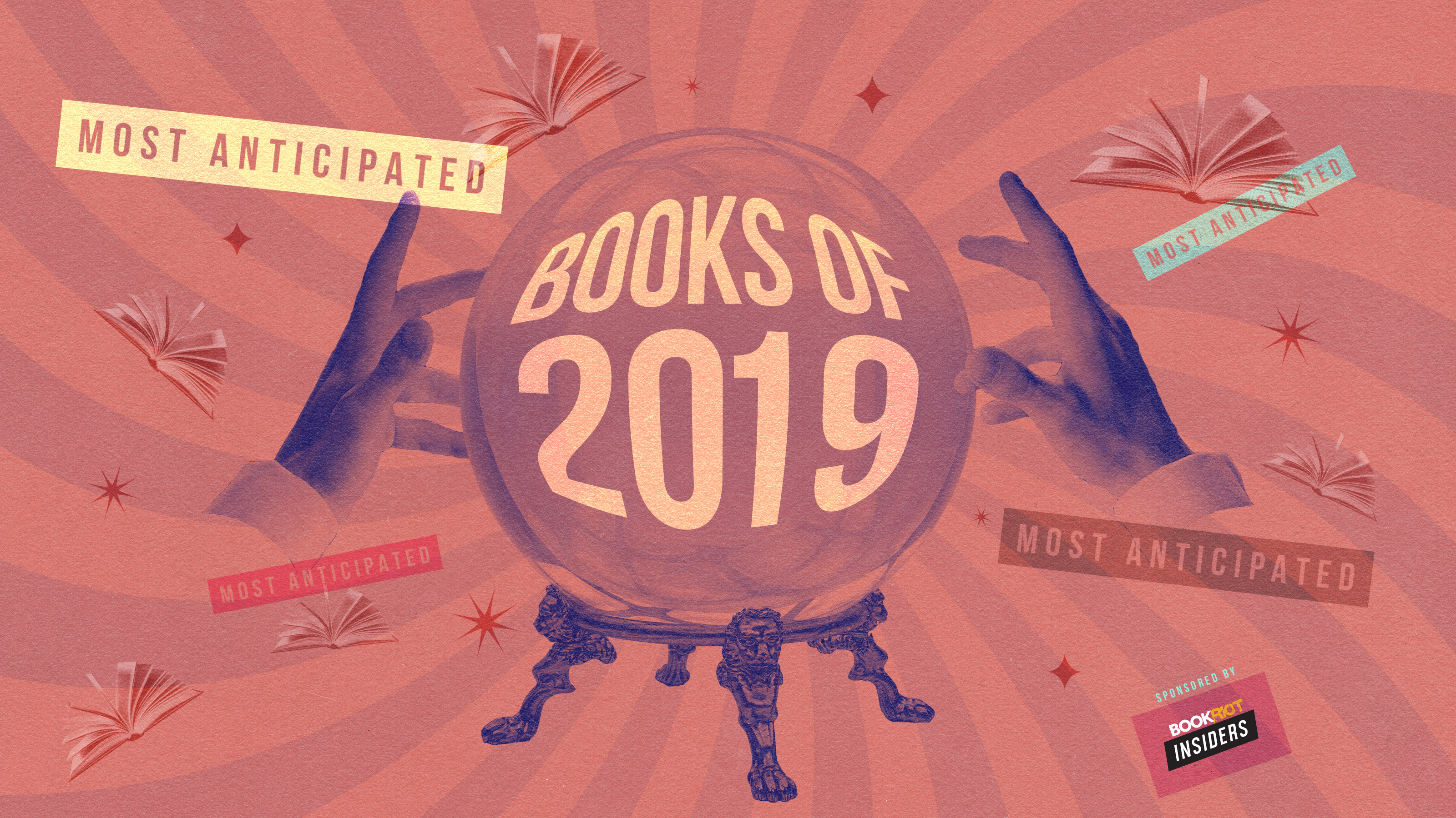 The Most Anticipated Books of 2019, From Book Riot!
