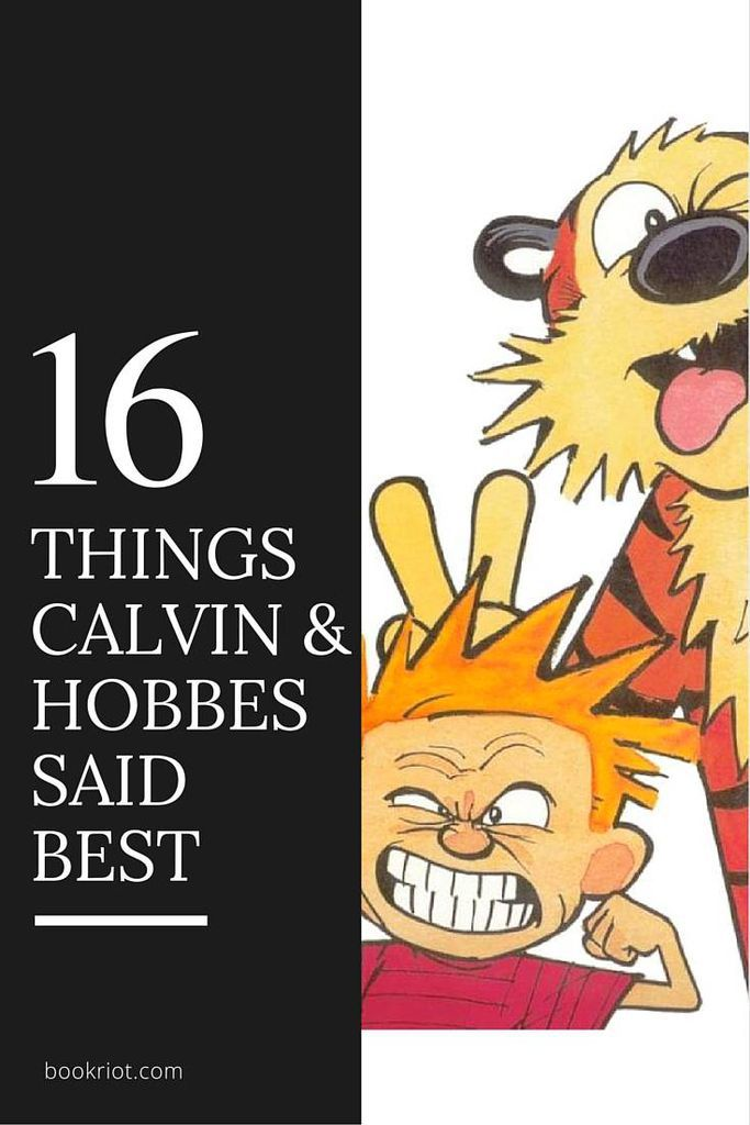 16 Things Calvin and Hobbes Said Better Than Anyone Else | Book Riot