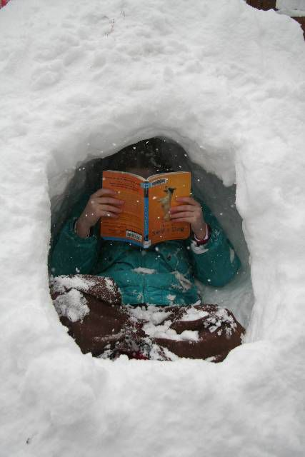 snow fort reading