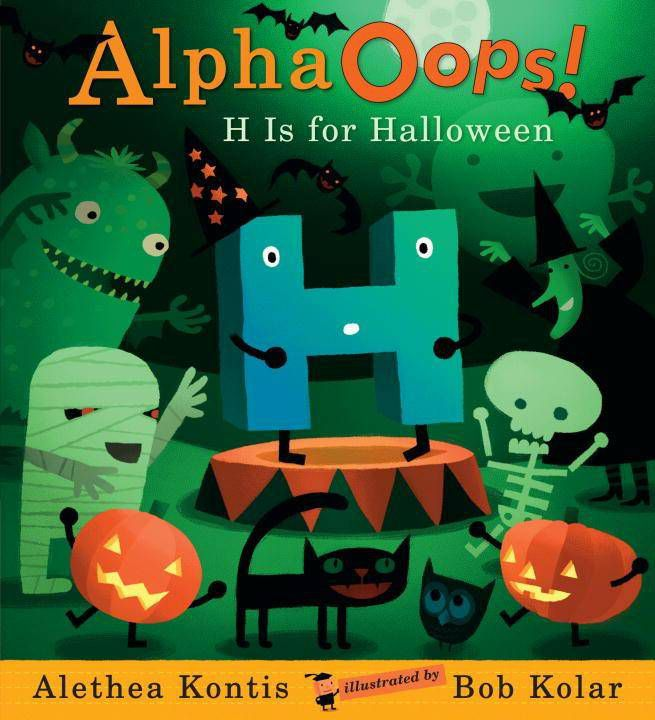 alpha oops h is for halloween