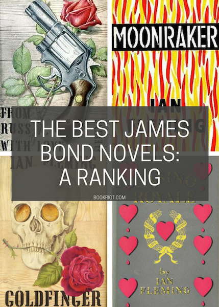 The Best James Bond Books: Ranking The Ian Fleming Originals | BookRiot.com