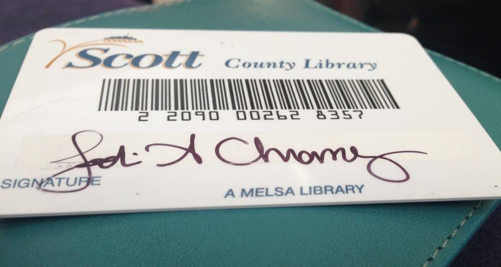 Jodi Library Card