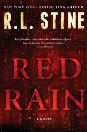 Red Rain Cover