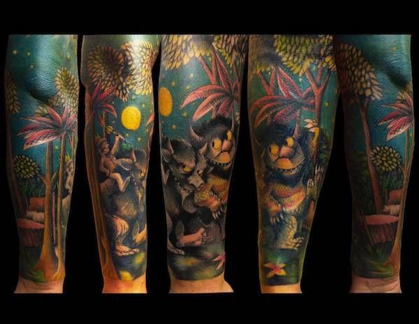 wild thing tattoo