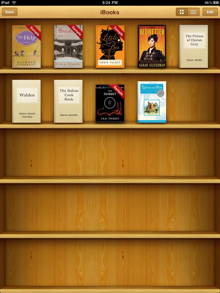 My Familys Virtual Bookshelf