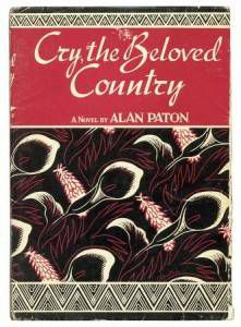 cry the beloved country first edition cover