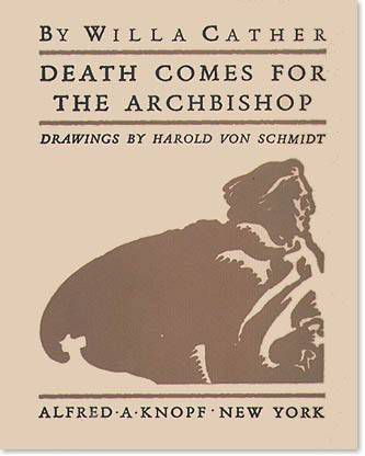 death comes for the archbishop first edition cover