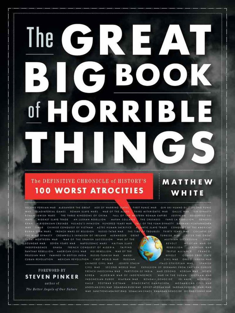 great big book of horrible things