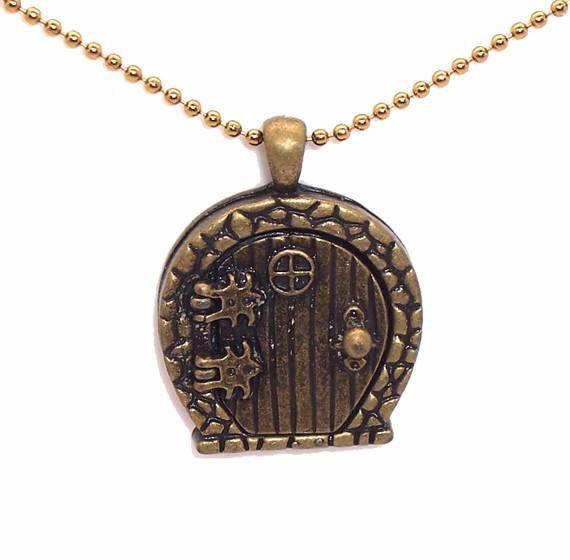 hobbit hole locket necklace