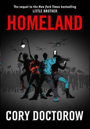 Homeland, Cory Doctorow cover
