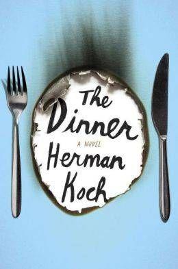The Dinner, Herman Koch cover