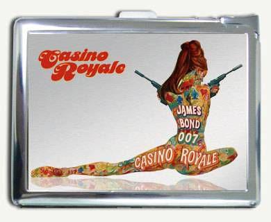 james bond cigarette case