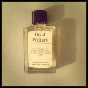dead writers perfume