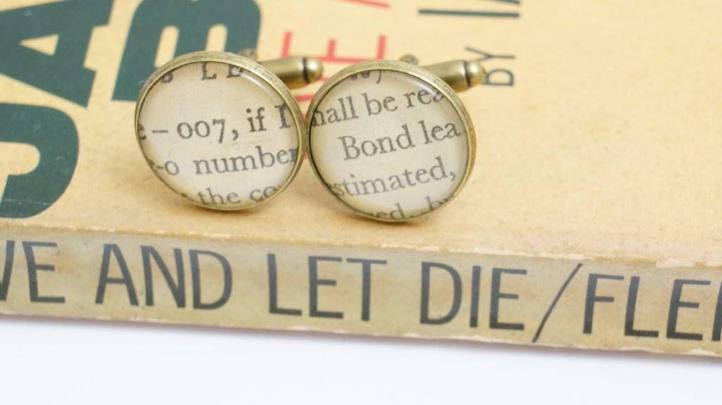 bond cufflinks