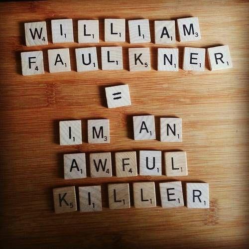 faulkner anagram