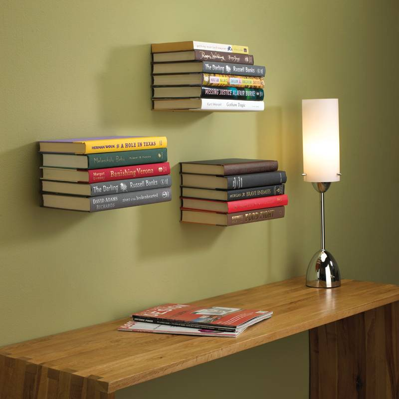 5 Tricky Invisible Bookshelves