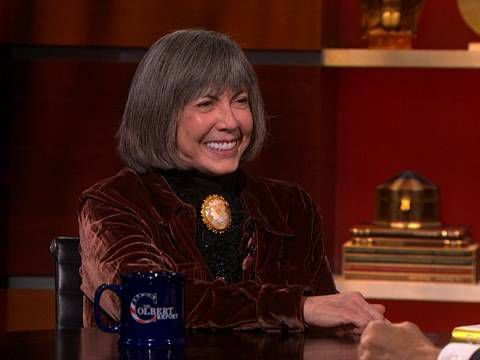 Anne Rice Stephen Colbert