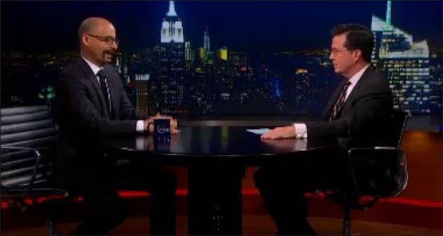 Colbert Junot Diaz