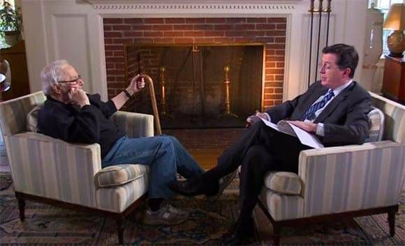 Sendak Colbert Interview