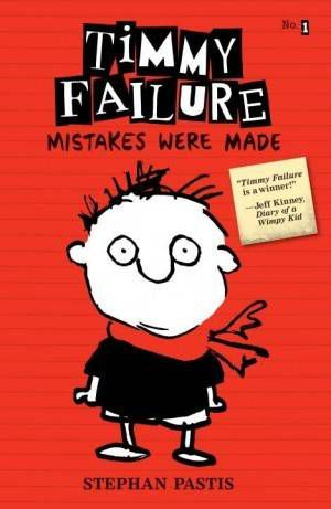 Timmy Failure Stephan Pastis Cover