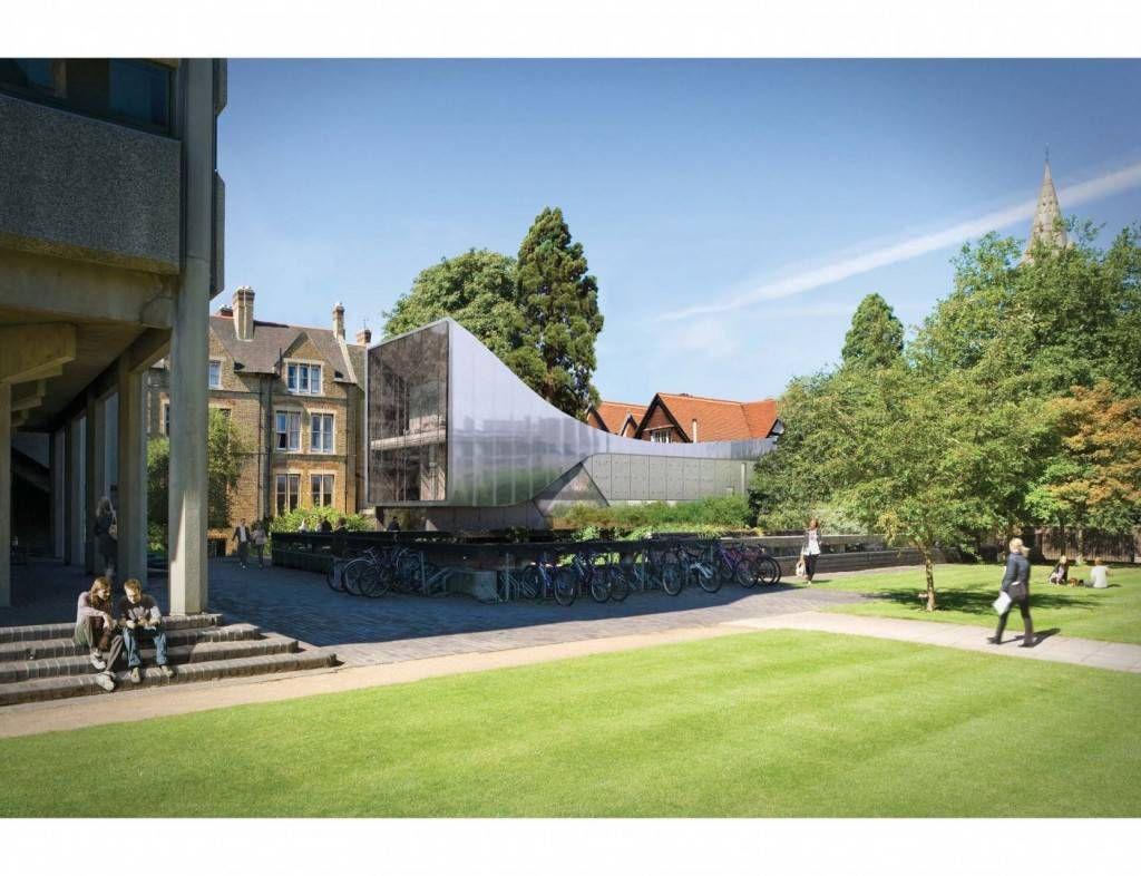 library bridge outside