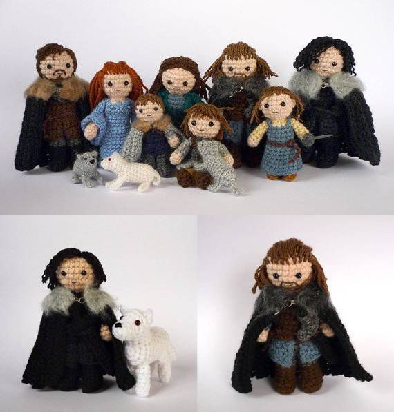 House of Stark Amigurumi