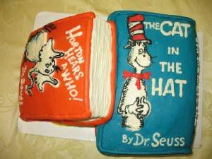Dr Seuss by Heather Hinsley (Edible Books)