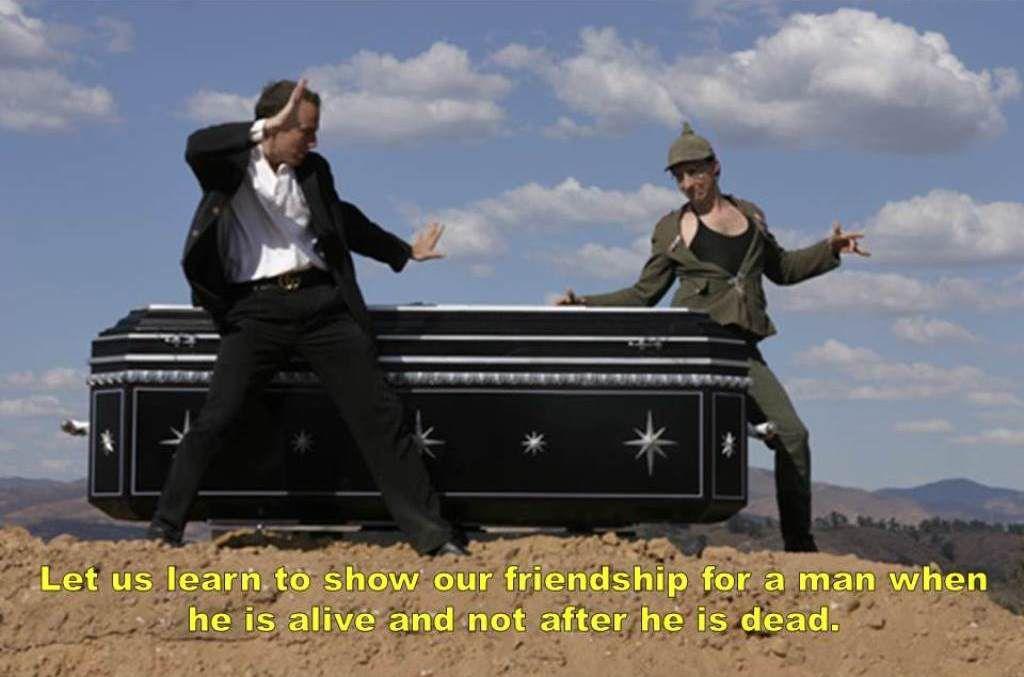 Gatsby Arrested Development Mash up Funeral