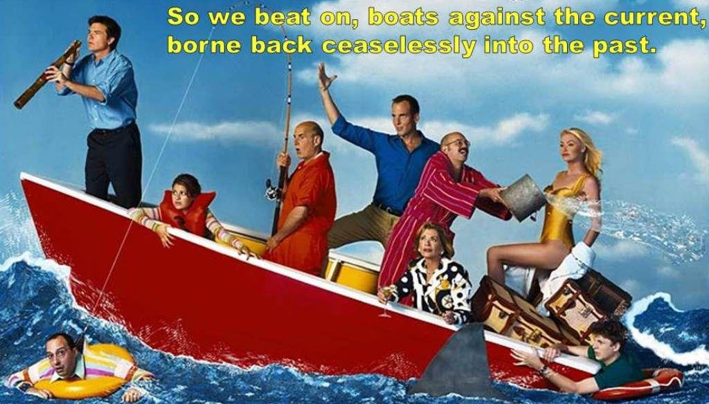 Great Gatsby Arrested Development Mash Up Boats
