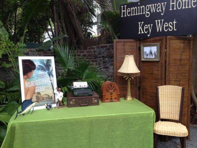 Hemingway House Daytime Set Up