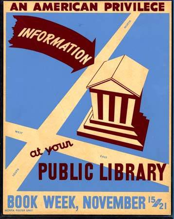 Poster promoting Book Week in North Carolina. Documented by Marxchivist.