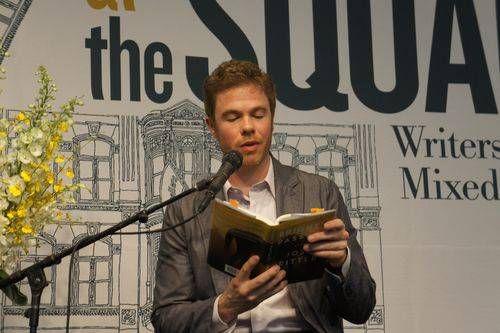 Josh Ritter reading from Bright's Passage. Image Credit: Jen Ray