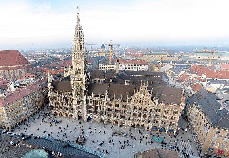 Munich Rathaus (Law Library)