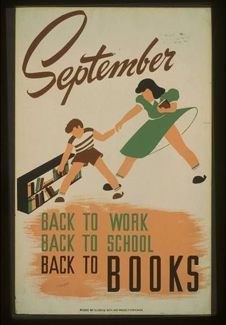 Poster produced in Chicago in 1940.