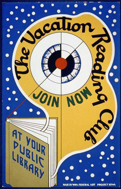 A poster from Iowa, produced in 1939.
