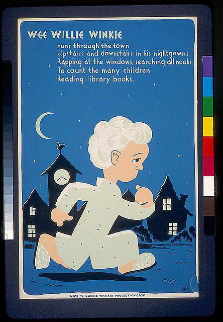 Poster by Sara Cleo, produced in Chicago in 1940.