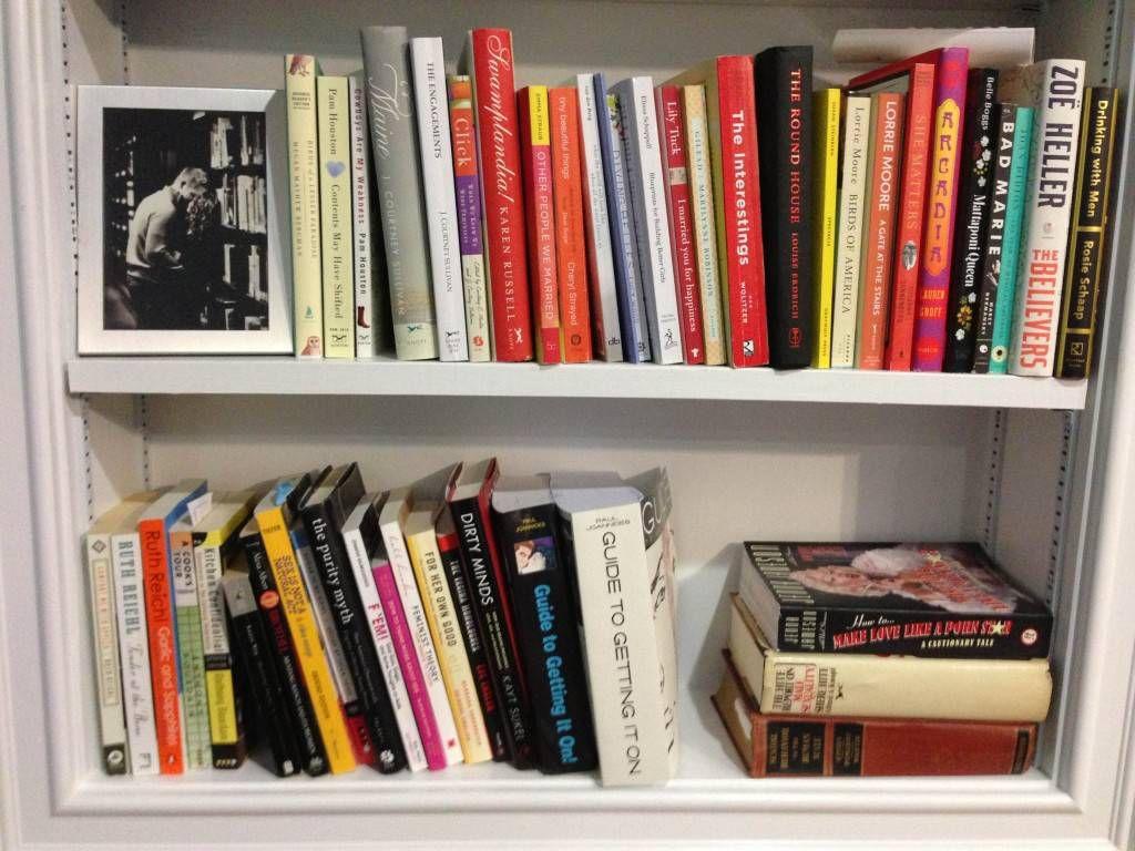 built-in bookshelves bottom