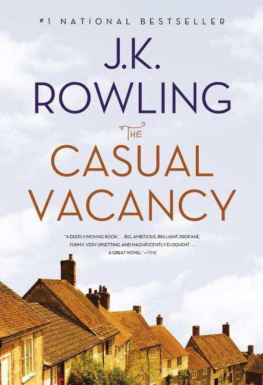 casual vacancy paperback
