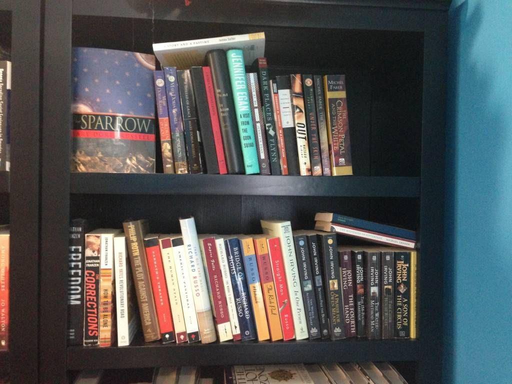 favorites shelf