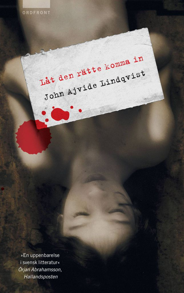 cover of Let the Right One In by John Ajvide Lindqvist