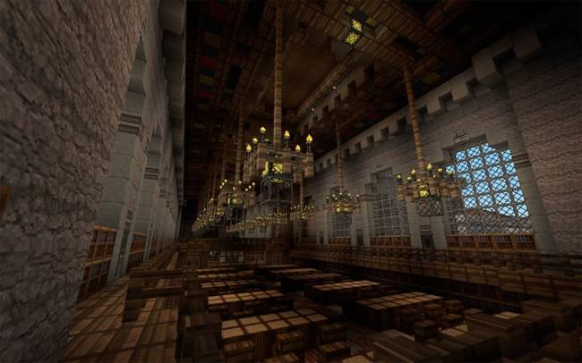 Ten of the Most Beautiful Libraries Ever Built (In Minecraft)