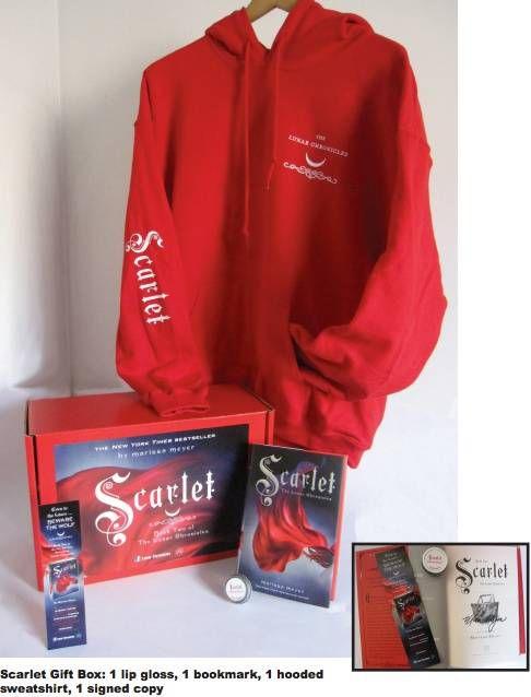 scarlet gift box