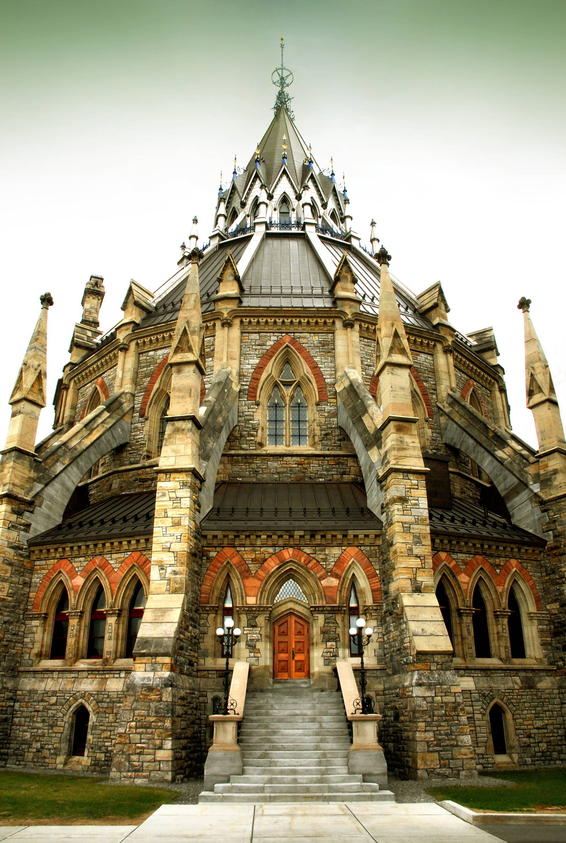 Cool Bookish Places The Library Of Parliament Canada