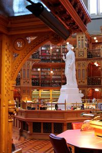 library of parliament canada interior