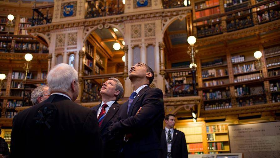 Obama Library of Parliament