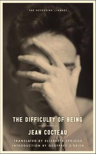 Difficulty of Being by Jean Cocteau Cover