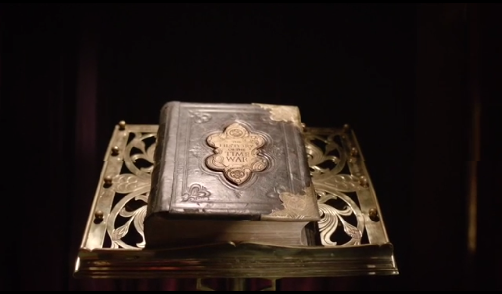 You can tell it's important because it's on a fancy stand. Like a bible. Or a dictionary.