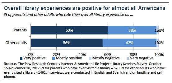 Library Experience (Pew Report)