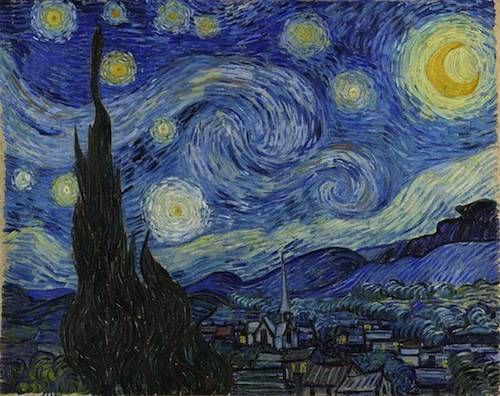 Vincent van Gogh's Starry Night - 1889