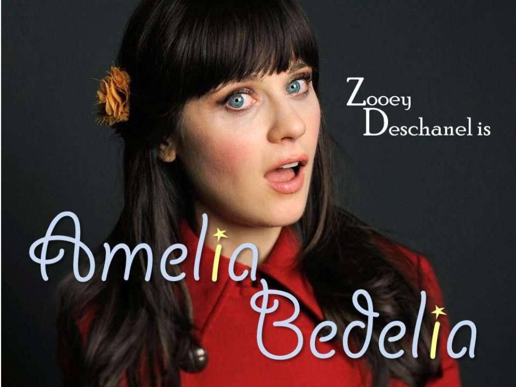 zooey deschanel as amelia bedelia a hypothetical match made in